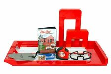 BRICKY PRO PROFESSIONAL WALL BUILDING MORTAR APPLICATION TOOL KIT WITH DVD