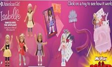 McDonald's 2014 - American Girl Isabelle - Chose your toy - FREE SHIPPING