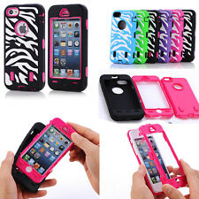 Hybrid Zebra Deluxe Cell Phone Accessories Case Skin Cover For Apple iPhone 5C
