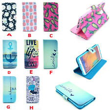 Flip Wallet Card Hold Stand Flip Leather Phone Case Cover For Samsung Galaxy