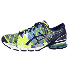 ASICS GEL-KINSEI 5 MEN HERREN LAUFSCHUHE FLASH YELLOW BLUE T3E4Y-0451 SCHUHE