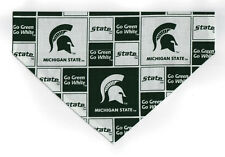 Pet Dog Bandana Scarf MICHIGAN STATE SPARTANS GO GREEN  ***MADE IN USA***