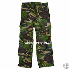 KIDS COMBAT DPM CAMO TROUSERS water repellent childs army