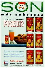 6216.Picker.son mas sabrosos.jugos de frutas.POSTER.Home Office art