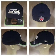 Seattle Seahawks 2014 New Era 39Thirty Team Color Player Coach Onfield Cap Hat