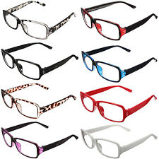 Fashion Unisex Clear Retro Shell Lens Plain Nerd Geek Glasses Plastic Frame New