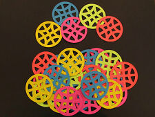 30 Geometric Circle Diecuts,Embellishments, Your Choice of Colours, Paper Crafts