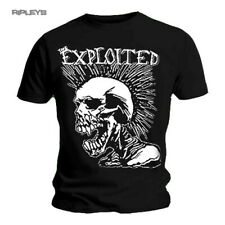 Official T Shirt THE EXPLOITED Classic MOHICAN SKULL Punk All Sizes