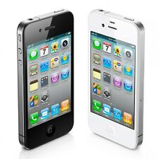Apple iPhone 4 8GB Verizon Wireless WiFi Black and White Smartphone