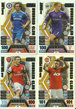 MATCH ATTAX 13/14 100 HUNDRED CLUB CARDS PICK THE ONES YOU NEED VAN PERSIE BALE