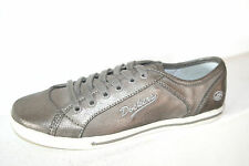 DOCKERS Women's Casual Sneaker Flat Trainers Gray Silver Antique Look UK 4-8 New