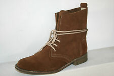 DOCKERS Boots Womens Boots Ankle boots Rust brown leather Suede