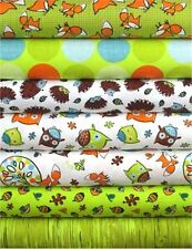 Frolicking Forest - Camelot Cottons Fabric Fat Quarters - Choice of Design