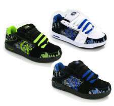 New Boys Baseball Skater Style Trainers Shoes Size 13-6