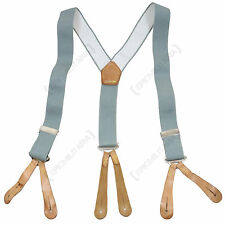 Original British Army TROUSER BRACES Military Type Surplus Suspenders All Sizes