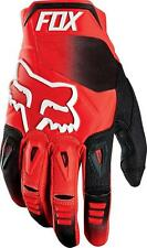 FOX RACING PAWTECTOR RACE GLOVES RED MX ATV UTV ROV DIRT BIKE 12005-003