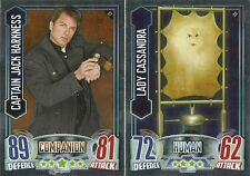 DR DOCTOR WHO ALIEN ATTAX MIRROR FOIL CARDS 17 TO 48 PICK THE ONES YOU NEED