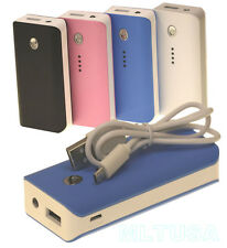 5600mAh Portable External Backup Power Bank Battery Charger for Smart Phones