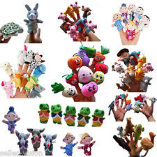 Family Finger Puppets Cloth Doll Baby Educational Hand Toy Story Kid Party Gift