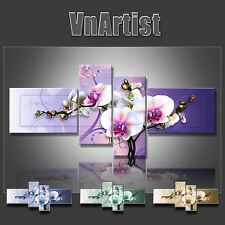 VnArtist / TOP LEINWAND KUNSTDRUCK BILDER DIGITAL BLUMEN ORCHIDEE ART 3117