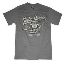 Harley-Davidson Men's Fast Back Short Sleeve T-Shirt Gray 30293257
