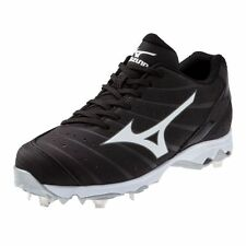 Mizuno Women's 9-Spike Advanced Sweep 2 Metal Softball Cleats - 320473 - Black