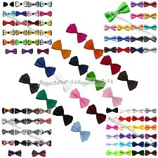 Children Kids Toddler Boy Suit Tuxedo Wedding Multicolor Bowtie Bow Tie Neckwear