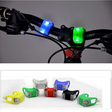 Bike Bicycle Cycle Light LED Silicon Front Rear Mountain bike Warning lights 774