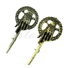 For Game of Thrones hand of The King Lapel Replica Vintage Costume Brooch Pin
