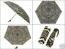 Coach F67852 Zebra Print Mini Umbrella available in ORANGE, BLACK or MINERAL NWT