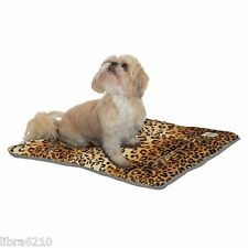 Pet Dreams Designer Sleepeez Dog Bed Crate Pad Leopard Print Extra Small - Large