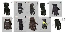 Collection Of Motorcycle Cowhide Leather Motorbike Gloves For Summer / Winter