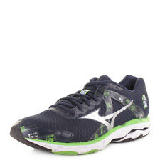 MENS MIZUNO WAVE INSPIRE 10 DRESS BLUE SILVER GREEN RUNNING TRAINERS SHOES SIZE