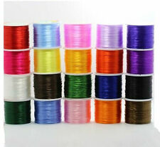 1 Roll 1.00mm Strong Elastic Stretchy Beading Thread Cords For Jewelry Making C