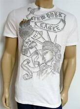 American Eagle Outfitters AEO Statue Of Liberty Mens White T-Shirt New NWT