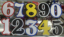 Zeronine Zero Nine Numbers Number Plate for Old Mid Scool BMX Racing Bike