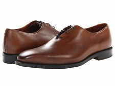 Allen Edmonds Mens Hanover Squared Plain Toe Bourbon Dress Shoes Lace Up Oxfords