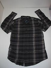 St. Johns Bay Button-Up-Front Flannel Shirt (CHOOSE sz) Mens Plaid (#5) NEW NWT
