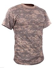 vintage acu digital camo t-shirt military camouflage short sleeve rothco 44777