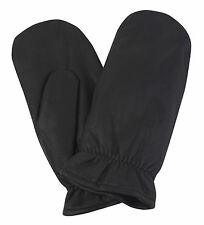 Men's Lined Leather Mitts