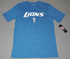 "NWT NFL Youth/Boys ""MATTHEW STAFFORD #9"" Detroit Lions T-Shirt Jersey Tee M & XL"