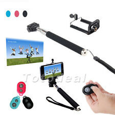 New Extendable Monopod Mount Bluetooth Wireless Remote Self-timer for Cell Phone