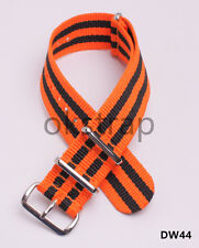 20MM Nylon Watch band watch strap 5 Article color watch band 20color available