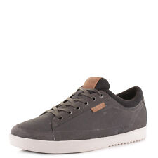 MENS O'NEILL DANGLE 2 SUEDE STEEL GREY LACE UP TRAINERS SHOES SIZE