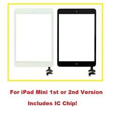 New Touch Screen Digitizer Glass Assembly +Home Key IC Flex for iPad Mini 1 or 2