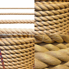 POLYHEMP ROPE 6mm 8mm 10mm 12mm 14mm 16mm 18mm 20mm 24mm 28mm, DECKING SYNTHETIC