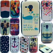 New Paint Hard Phone Back Case Cover For Samsung Galaxy S3 S4 mini i8190 i9190