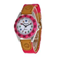 1pcs Fashion Kids Girl Boy Children's Gift Learn Time Quartz Wristwatch U32