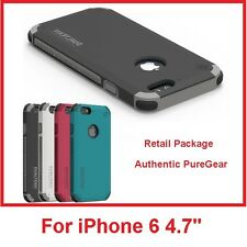 PureGear Dualtek Extreme Rugged Impact Protection Cover Case for iPhone 6 4.7""