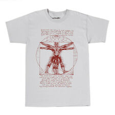 Marvel Comics Spider-man Vitruvian Spidey Licensed Adult T-shirt - Grey